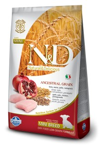 LOW GRAIN CHICKEN&POMEGRANATE ADULT MINI 14KG