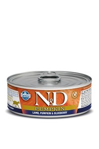 N&D Pumpkin Lamb & Blueberry 12 x 0,80g