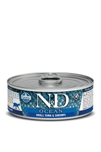 N&D Ocean Tuna & Shrimp Adult (12 x 0,80)